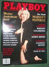 Playboy Jan 1997 POM Jami Ferrell Marilyn Monroe NUDE Whoopi Goldberg interview