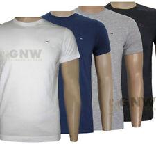 Tommy Hilfiger Herren-T-Shirts mit Rundhals-Ausschnitt