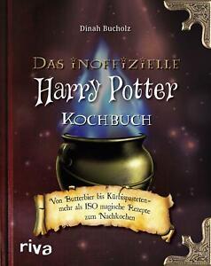 Das inoffizielle Harry-Potter-Kochbuch von Dinah Bucholz (2016, Geb.) UNGELESEN