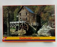 """Water Wheel 550 Piece Kodacolor Puzzle 13"""" x 19"""" by Rose Art Brand Sealed"""