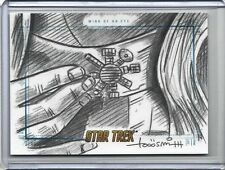 2014 Star Trek TOS WINK OF AN EYE 1/1 Sketch Card by Todd Smith