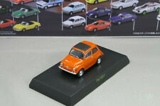 Kyosho 1/64  Fiat 500 F Orange Mini car Collection 2007 Japan Lancia
