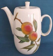 Royal Worcester Evesham Oro Porcellana Fine CAFFETTIERA MADE IN ENGLAND 2 1/4 pinte