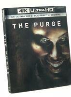 Purge, The (4K Ultra HD+Blu-ray+Digital, 2018; 2-Disc Set) NEW w/ Slipcover 4K
