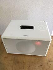 Geneva Sound System Model S speaker system with FM White (tested Working)