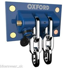 OXFORD Docking Station The Ultimate Wall & Ground Motorcycle Anchor of437