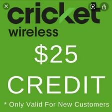 $25 Cricket Wireless Referral Credit with Step by Step Instructions