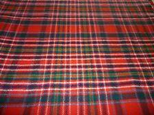 MacAlister/MacAllister Modern Tartan Fabric 100% Pure New Wool By The Metre