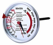 Dual Meat Oven Thermometer With Probe Quality New