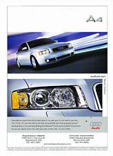 2004 Audi A4 - smart money - Vintage Advertisement Ad A32-B