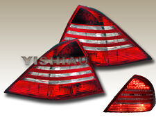 Mercedes W220 S430/S500/S600 Red Clear LED Tail Lights