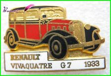 Pin's Collection Voiture RENAULT Car VIVAQUATRE G7 1933 #40