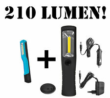 COB Luz de trabajo LED PILA Coche Linterna TALLER Lámpara mano