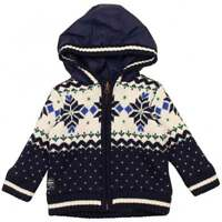 Timberland Reversible Cardigan Navy Age 6 Months rrp £59 DH172 MM 05