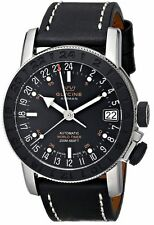 Glycine Men's 3927.191.LB9B Airman 17 Sphair Swiss Made Automatic GMT Watch