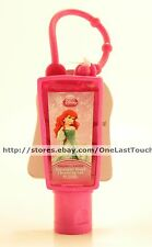 PRINCESS ARIEL 1 oz Antiseptic Hand RASPBERRY Cleansing Gel SANITIZER+CLIP New!