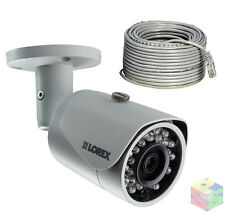 Lorex lnb4163b 2k 2x1080p HD 4mp HDR Bullet IP Security Kamera 130' Nachtsicht