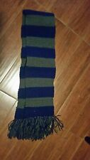 Harry Potter, blue and gray, 64 inch woolen scarf, Ravenclaw