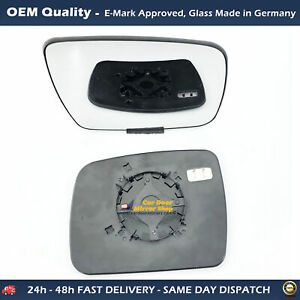 Heated Mirror Glass with base For Land Rover Freelander 2 FITS To 2010 to 2014 ,