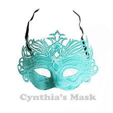 Green PVC Venetian Mask BZ304B  Masquerade Halloween Costume Party & Display
