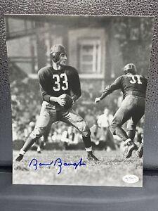 SAMMY BAUGH Signed 8x10 Photo Washington Redskins HOF JSA  - Rare Photo