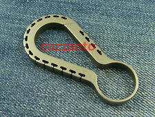 Limited Edition EDC Titanium Key ring holder snap hook Carabiner KC082