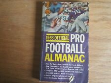 1963 Official Pro Football Almanac