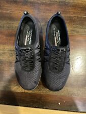 Ladies Skechers Comfort Shoe Size 8.5 Black Memory Foam Insole