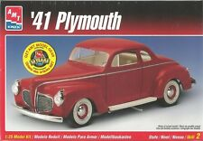 AMT '41 Plymouth Plastic Model Car Kit Scale 1/25 #6184