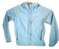 The North Face Hyvent DT Light Blue Jacket Women's Small Rain Hiking Camping