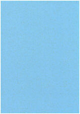 Pack Of 20 Sheets Denim Blue A4 Stardust Sparkling Glitter Paper Craft 120gsm