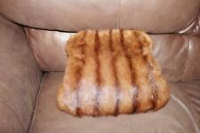 Gorgeous Large Vintage Demi Buff Mink Fur Muff Hand Warmer