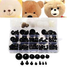 154 Pcs 6-24mm Black Plastic Safety Eyes For Teddy Bear Doll Animal Toy Crafts