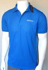 NWT OGIO Golf Polo Shirt Mens M, Breathable Stretch Polyester, Blue, Bio Express