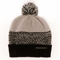 LIVERPOOL GRADUATED POM BEANIE/TOQUE OFFICIALLY LICENSED SHIPS FROM USA
