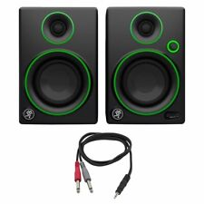 """Mackie CR Series 3"""" Creative Reference Multimedia Monitors (Pair) (CR3) with Mon"""