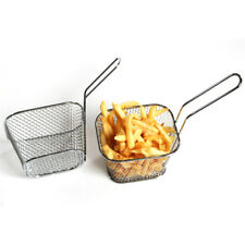 stainless steel basket for French fries baskets mini baskets food fried baskets
