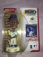 CHICAGO CUBS 2002 SAMMY HOSA UD BOBBLE HEAD BY PLAYMAKERS W/COLLECTOR CARD NIB