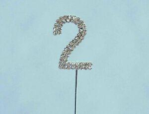 Diamante '2' Pick- Silver