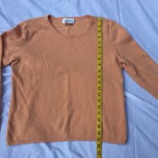 Chadwick's  100% Cashmere Pullover Sweater Crew Neck Women's Large Casual