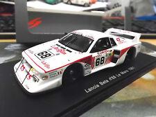 LANCIA Beta Montecarlo Turbo #68 Le Mans 1981 Fonotto Pianta Schön Spark 1:43