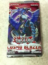 YuGiOh TCG Cosmo Blazer 9cd Booster Pack English Sealed Qty Discount Available