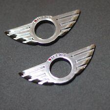 2x I Love Mini DOOR LOCK KNOBS PINS CENTRAL LOCKING Emblem FOR MINI COOPER