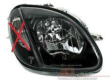 Scheinwerfer rechts für Mercedes SLK R170 170 96-04 in Schwarz H4