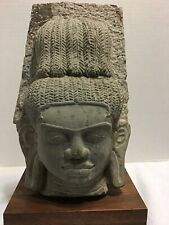 Ancient Southeast asia stone Absara relief Really Heavy Around 16 Pounds