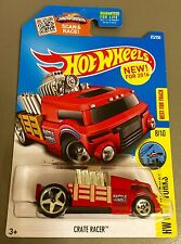 2016 Hot Wheels CRATE RACER in Red with shaking engine 173/250 NEW MODEL Nice!