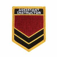 Kampfsport Bestickt Abzeichen - Assistent Instructor Shield Gi Flicken Uniform