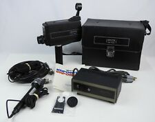 Vintage Zenith JC500 TV Video Camera Complete in Box w/ Microphone & Cables