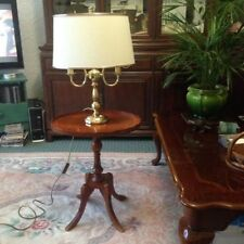 BHS Wooden Table Lamps