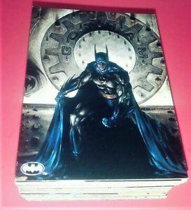 "BATMAN ""THE DARK KNIGHT"" 1994 SKYBOX COMPLETE BASE CARD SET 1-100"